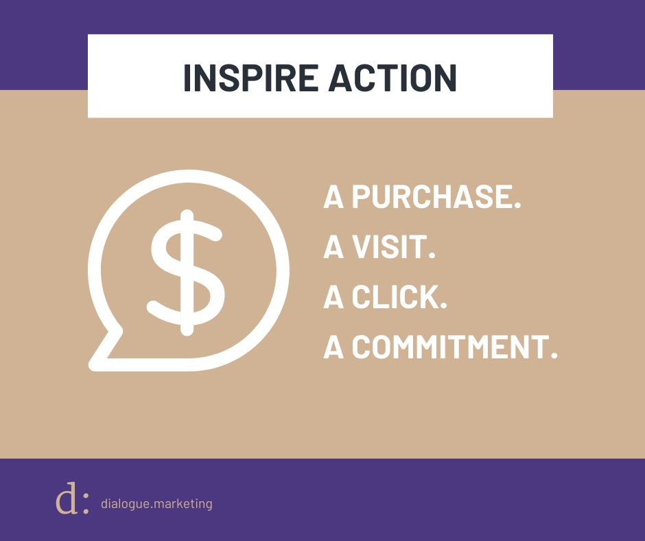Content Marketing Metrics - Goal is Inspire Action
