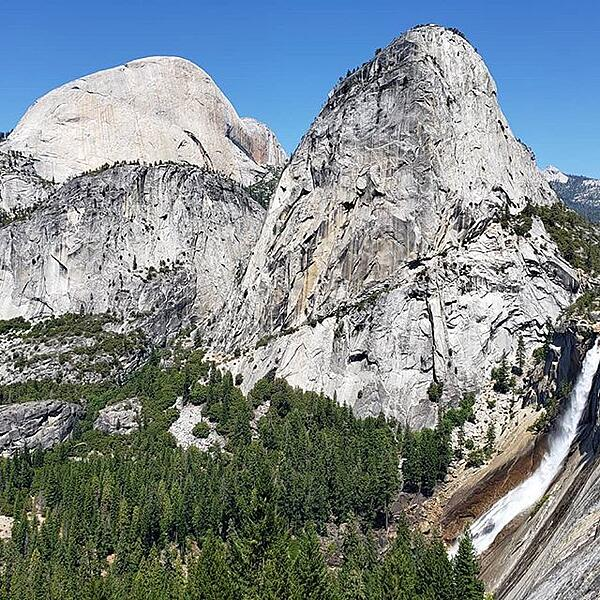 Yosemite Half Dome John Muir Trail Thru Hike