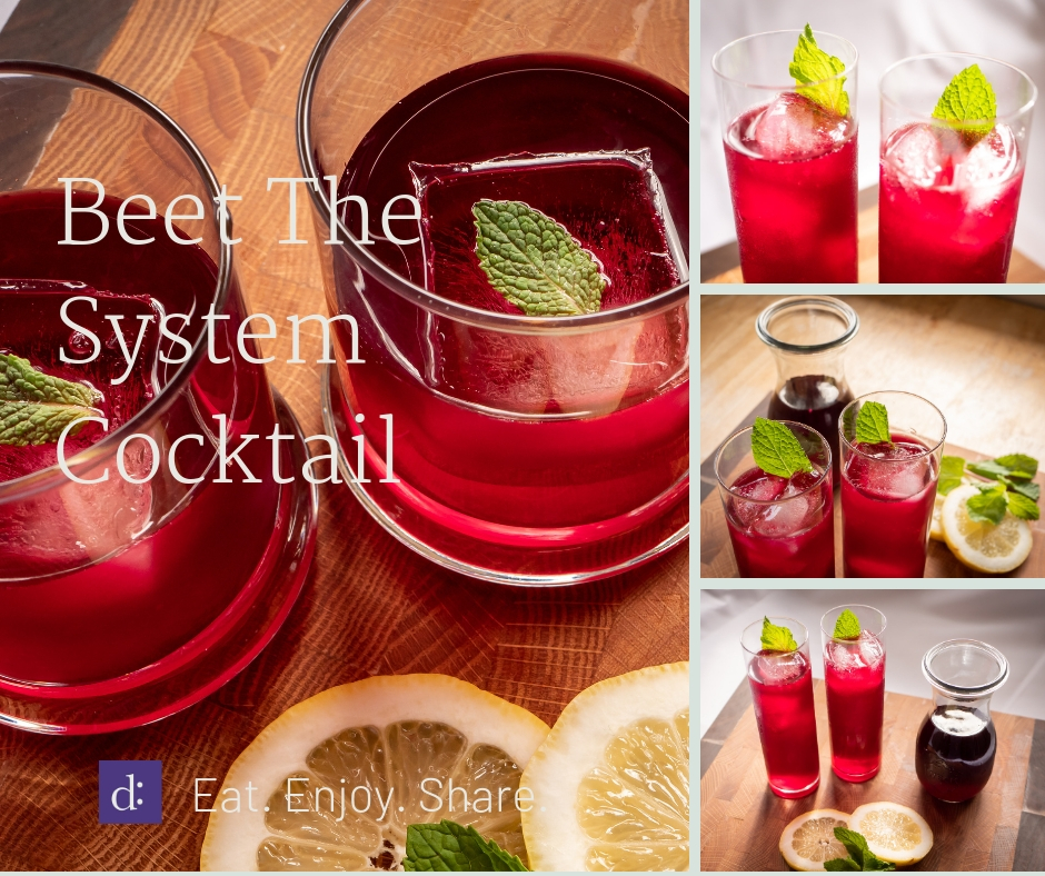 Beet the System Cocktail