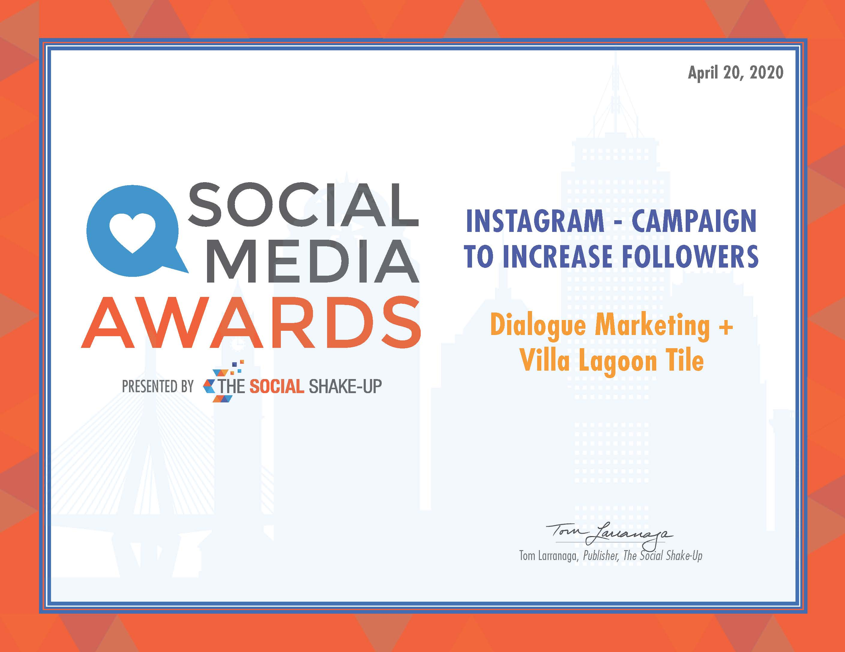 Instagram Campaign to Increase Followers_Dialogue Marketing